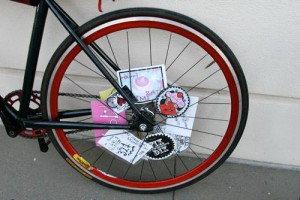 Bike mit Spokecards