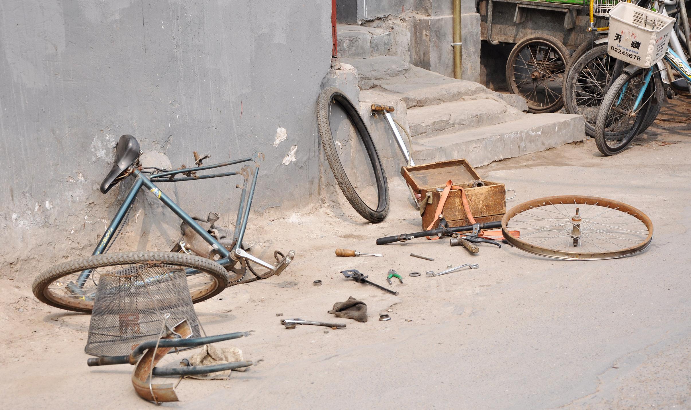 Verführerisch Upcycling Fahrrad Foto Von Rad Kaputt